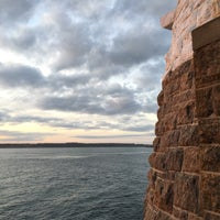 Photo taken at Castle Hill Lighthouse by Deborah B. on 11/26/2015