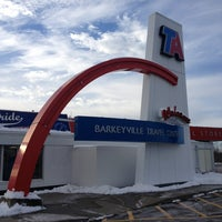 Photo taken at TravelCenters of America by Amber C. on 11/30/2013