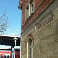 Photo taken at Bahnhof Herrenberg by Tatiana K. on 11/16/2015