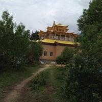Photo taken at Баргузинский Дацан Богини Янжимы by Андрей О. on 8/20/2013