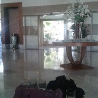 Photo taken at Paloma Pasha Hotel Piano Lobby Lounge by Gamze S. on 3/23/2014