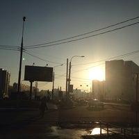 Photo taken at Остановка «Балаклавский проспект» by Ekaterina L. on 12/29/2013