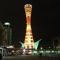 Photo taken at Kobe Port Tower by Rapheephorn P. on 12/28/2012