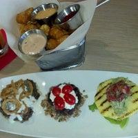 Photo taken at Stax Burger Bistro by Lance R. on 9/24/2012