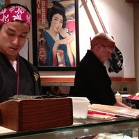 Photo taken at Sushi Zanmai by Nicole R. on 7/14/2013