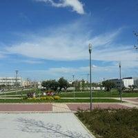 Photo taken at Universidad Rey Juan Carlos (Campus Fuenlabrada) by Marta C. on 4/16/2013