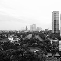 Photo taken at Panin Tower by Aulia F. on 6/18/2016