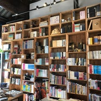 Photo taken at 先锋书店 Librairie Avant-Garde by Vtxdint T. on 2/11/2017