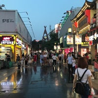 Photo taken at Guilin walking street by Vtxdint T. on 5/1/2018