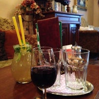 Photo taken at Porto coffee & wine by Michal M. on 3/28/2014