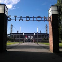 Photo taken at RheinEnergieStadion by Daniel H. on 9/9/2013
