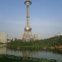 Photo taken at 株洲电视塔 | Zhuzhou TV Tower by Micky L. on 4/14/2013