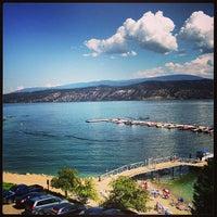 Photo taken at Lake Okanagan Resort Kelowna by Caleb L. on 8/9/2013