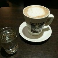 Photo taken at Einstein Kaffee by Güli on 5/17/2016