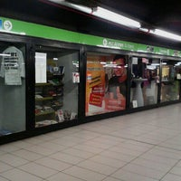 Photo taken at Metro Cadorna FN Triennale (M1, M2) by Aira on 5/28/2013