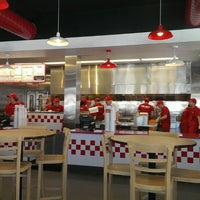 Photo taken at Five Guys by Andrew C. on 6/19/2013