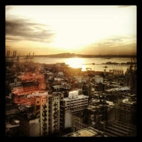 Photo taken at Radisson Montevideo Victoria Plaza Hotel by Miguel G. on 4/24/2013