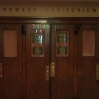 Photo taken at Bowker Auditorium by Spenser C. on 4/16/2013