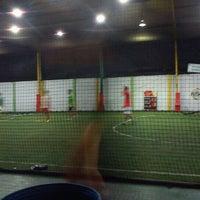 Photo taken at De Futsal by noboe o. on 10/3/2012