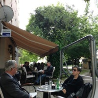 Photo taken at Caffe bar Van Gogh by Zvonimir L. on 6/7/2013