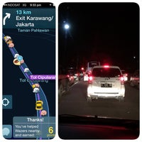 Photo taken at Jalan Tol Padaleunyi by Daniel H. on 3/22/2015