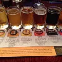 Photo taken at Gordon Biersch Brewery Restaurant by Dan S. on 5/10/2013