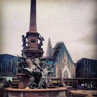 Photo taken at Augustusplatz by Riccardo G. on 11/25/2012