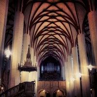 Foto tirada no(a) Thomaskirche por Riccardo G. em 11/25/2012
