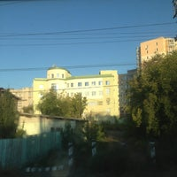 """Photo taken at ЖД Станция """"Бакинская"""" by Анечка Р. on 8/30/2013"""