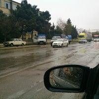 Photo taken at Bakıxanov qəsəbəsi by Ramin Q. on 4/17/2013