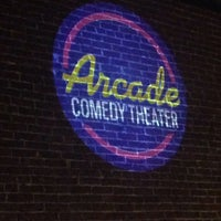 Photo taken at Arcade Comedy Theater by Whitney L. on 5/7/2014