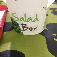 Photo taken at Salad Box by Marius F. on 3/1/2016