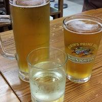 Photo taken at Yataimura Beer Garden by Melissa A. on 7/21/2013