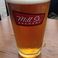 Photo taken at Mill St. Brew Pub by David P. on 6/2/2013