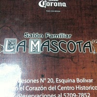 Photo taken at La Mascota by Daniel R. on 9/30/2013