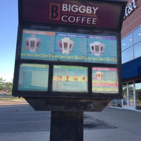 Photo taken at BIGGBY COFFEE by Kristen J. on 6/29/2016