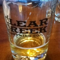 Photo taken at Clear Creek Brewing Company by Larissa T. on 6/29/2013
