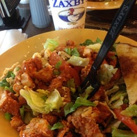 Photo taken at Zaxby's Chicken Fingers & Buffalo Wings by Monica C. on 4/23/2014