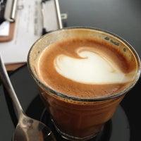 Photo taken at Base Espresso by Samuel D. on 5/21/2013