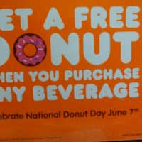 Photo taken at Dunkin Donuts by Amanda R. on 6/7/2013