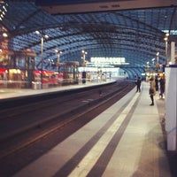 Photo taken at Berlin Central Station by Luis C. on 4/28/2013