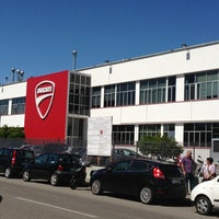 Photo taken at Ducati Motor Factory & Museum by Cynthia S. on 5/29/2013