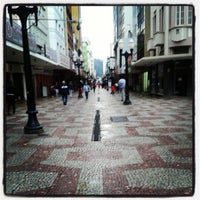Photo taken at Calçadão da Rua Halfeld by Enilson F. on 6/3/2013