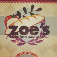 Photo taken at Zoe's Kitchen by Russell T. on 5/19/2013