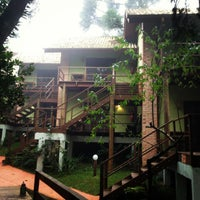 Photo taken at Curitiba Eco Hostel by C. G. on 5/21/2013