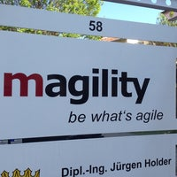Photo taken at magility by Christian B. on 4/24/2014
