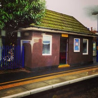 Photo taken at Seer Green Railway Station (SRG) by Chris B. on 1/28/2014