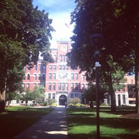 Photo taken at Clark University by Anna on 7/6/2014