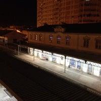 Photo taken at Estação Comboios De Caldas Da Rainha by ZeCompadre ™. on 10/16/2013
