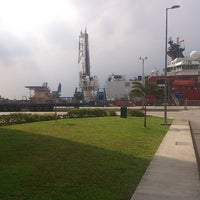 Photo taken at Loyang Offshore Supply Base Jetty by Dmytro B. on 4/15/2014